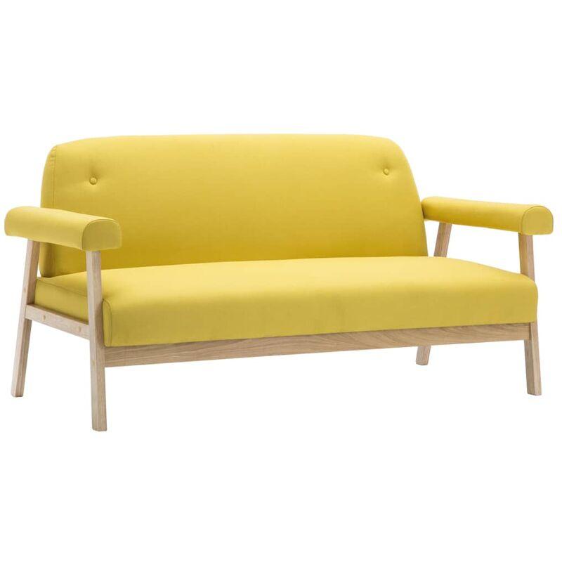 Sofa 3-Sitzer Gelb