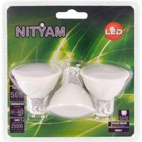 3 Spot LED Bulbs GU10 - 6W