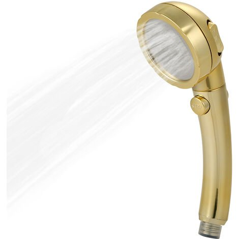 """main image of """"3 Spray Settings Shower Head with ON/Off Pause Switch Water Saving High Pressure Handheld Showerhead"""""""