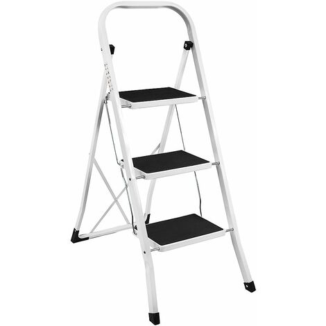 3 Step Ladder With Anti-Slip Mat
