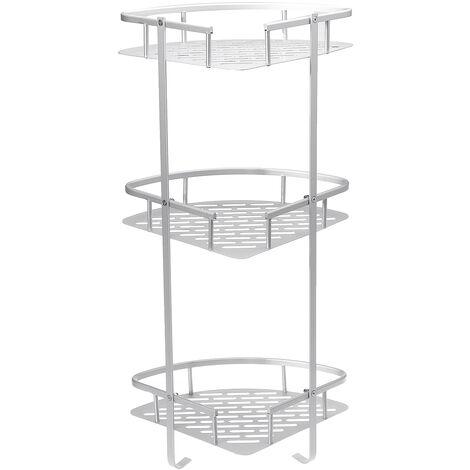 3 Tier Bath Corner Shower Caddy Shelf Hanging Storage Rack Organizer Holder