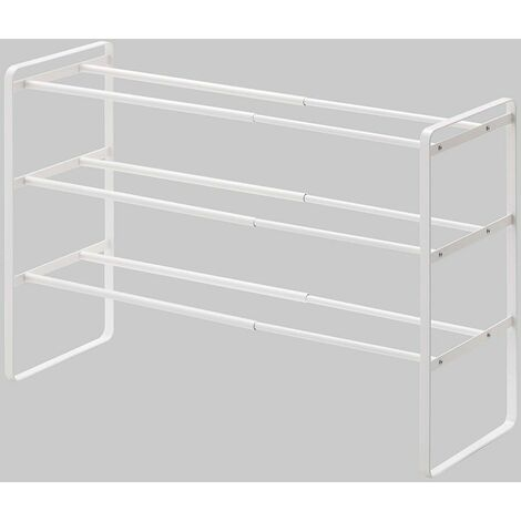 """main image of """"3 Tier Extending and Stacking Shoe Rack by Yamazaki"""""""