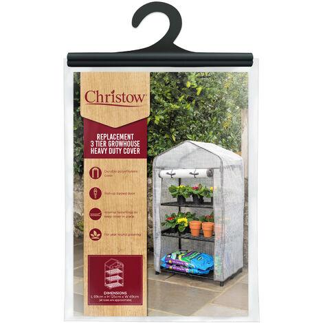 3 Tier Greenhouse Cover - PE