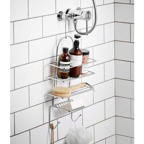 3 Tier Hanging Shower Caddy Basket Organiser