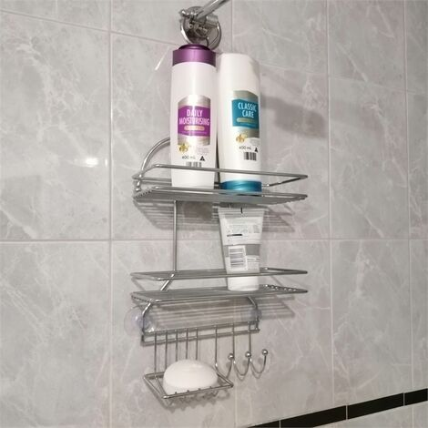 3 Tier Hanging Shower Caddy Storage Organiser Basket