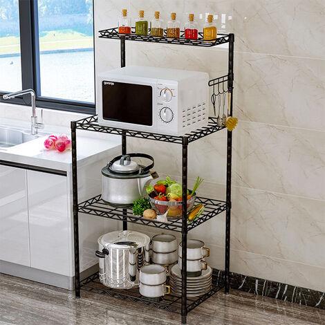 3 Tier Microwave Oven Rack Shelf Organiser Holder Kitchen Tool Storage Stand