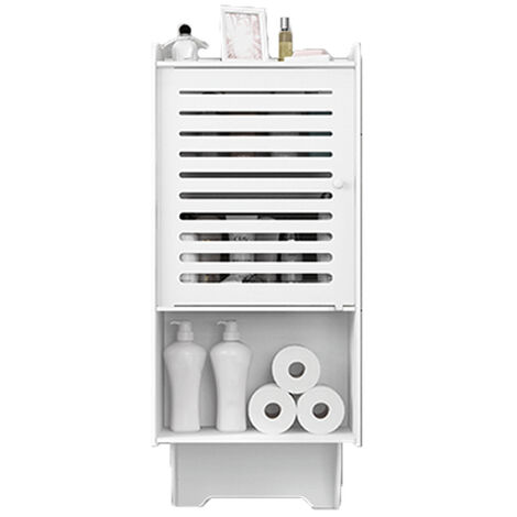 3 Tiers Medicine Cabinet Bathroom Wall Mounted Storage Cabinet White