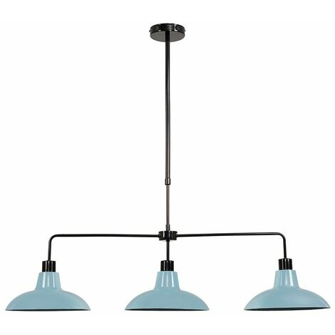 3 Way Rise & Fall Suspended Over Table Ceiling Light