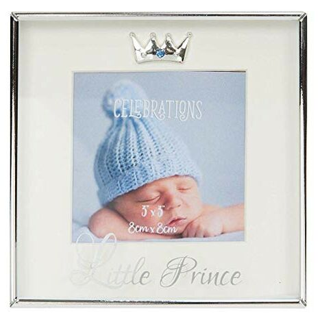 """3"""" x 3"""" - Silver Plated Box Frame - Little Prince"""