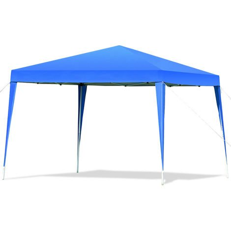 3 X 3M POP UP Gazebo Tent Waterproof Canopy Awning Shelter Marquee Party Wedding Blue