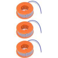 3 x Bosch Strimmer Trimmer Spool And Line ART23, ART26, ART30, ART2300, ART300, ART2600