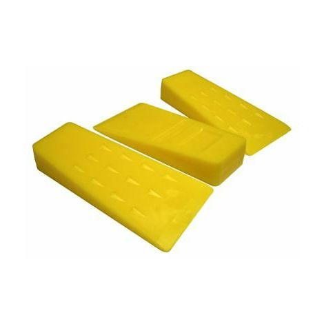"""3 x Chainsaw Plastic 5"""" Felling Cutting Cleaving Wedges"""