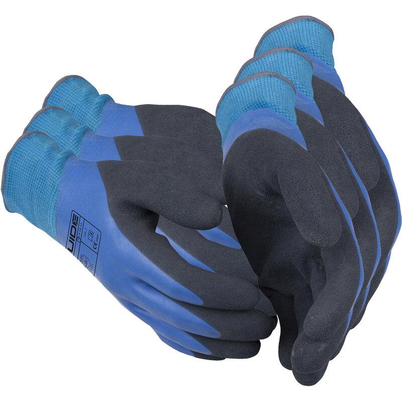 3 x Guide 585 Schutzhandschuhe aus nahtlos gestricktem Nylon-Garn mit Handschuhberater 3 Paar-10
