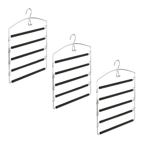 grau Relaxdays Wandorganizer Bambus mit 4 Jutemuster F/ächer 75 x 34 x 12 cm HxBxT Zeitungshalter f/ür B/üro und Flur