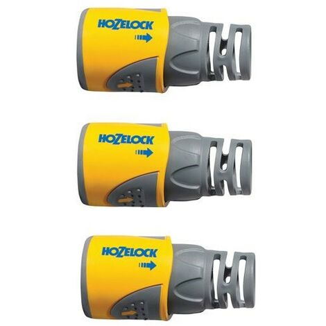 3 x Hozelock 2050 Garden Hose End Connector 1/2in 12.5mm Fitting