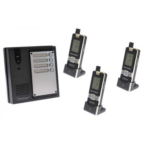 3 x Property 600 metre Wireless UltraCom4 Intercom