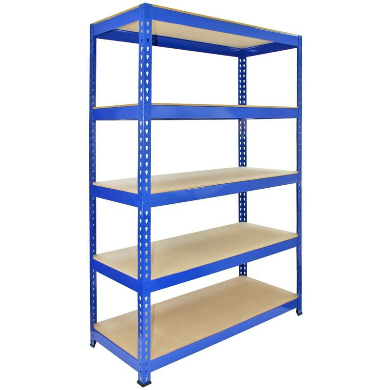 Image of 3 x Q-Rax Warehouse shelves 120cm