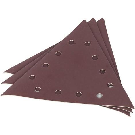 3 X Schleifpapier für Trockenbauschleifer G240 285 mm dreieckig