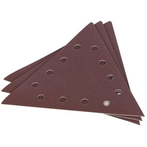 3 X Schleifpapier für Trockenbauschleifer G60 285 mm dreieckig