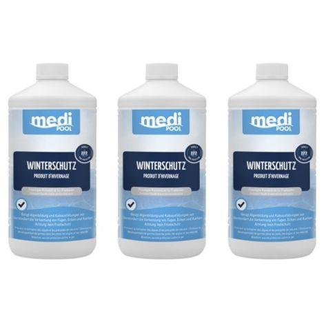 3 x Winterschutz 3 x 1L mediPOOL