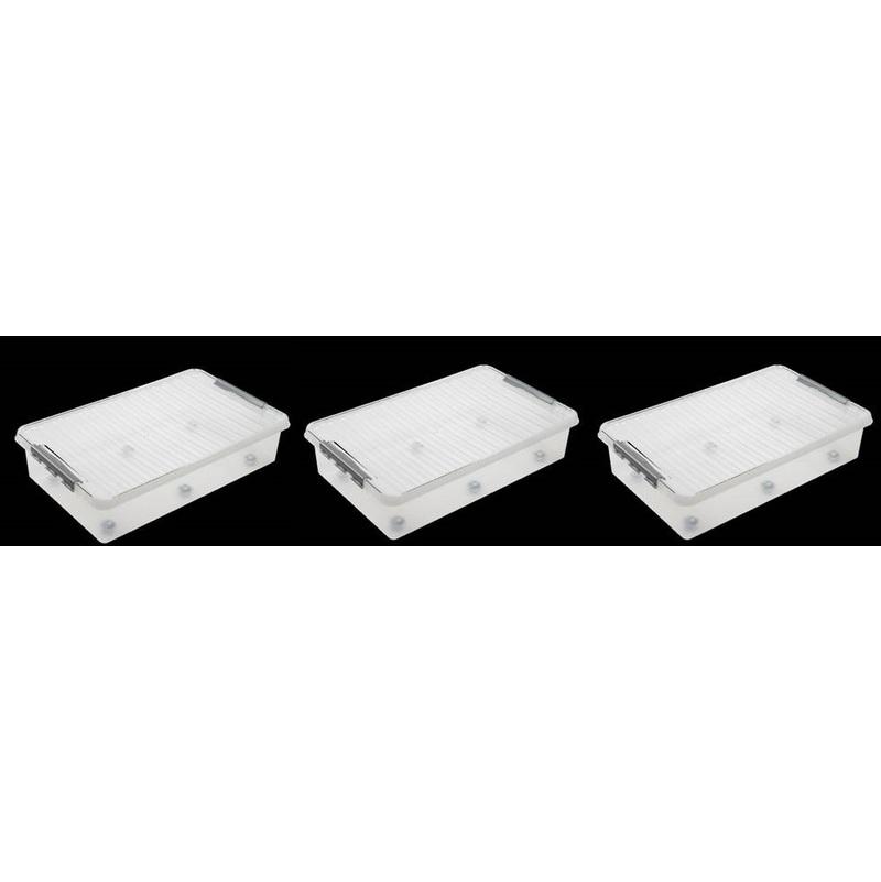 Image of 3 x XXL Underbed Storage Boxes