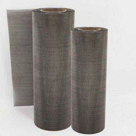 30 cm x 50 cm toile en acier inoxydable pour filtre de tamis, tamis recourbé, tamis, bassin de jardin