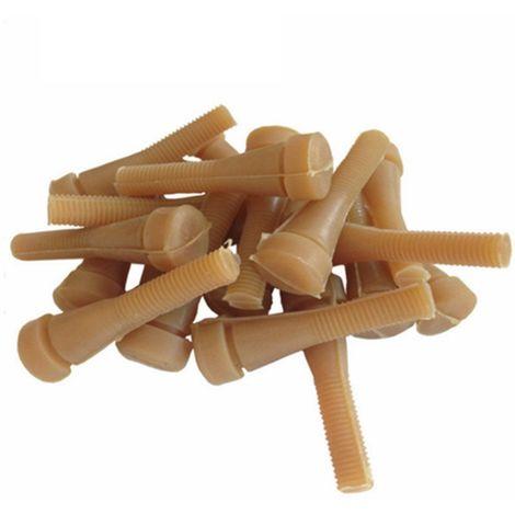 30 Dita di Gomma di Ricambio per Macchina spiumatrice quaglia, Piccione, ditoni per spennatrice