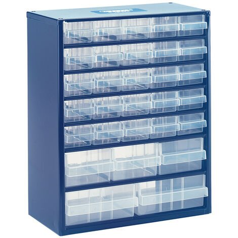 30 Drawer Storage Organiser