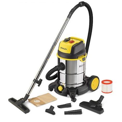 30 l 1.6 kw industrial stanley vacuum cleaner
