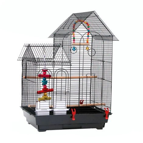 "30"" Parrot Bird Cage Finch Metal Aviary Budgie Flight Cage Cockatiel"