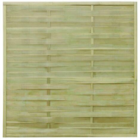 30 pcs Fence Panels Impregnated Wood 54 m 180x180 cm