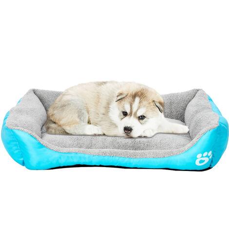 "30"" Pet Dog Cat Bed Pet Warm House Mat Blue"