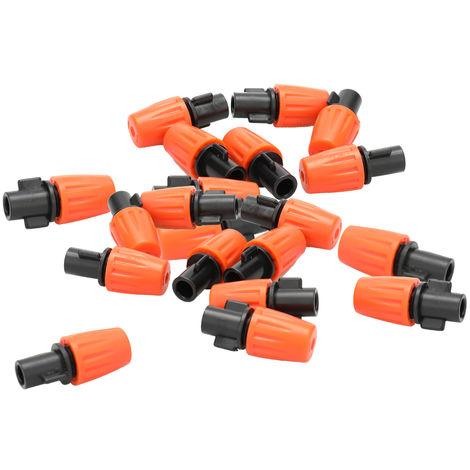 30 piezas, boquilla de rociador de agua para jardin, con conector de manguera