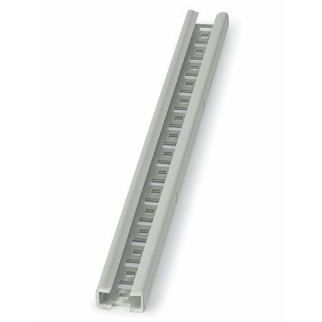 30 rails, guides perforés PVC 25 x 11 x 2 x 1000 mm - GPV251120 - Index - -