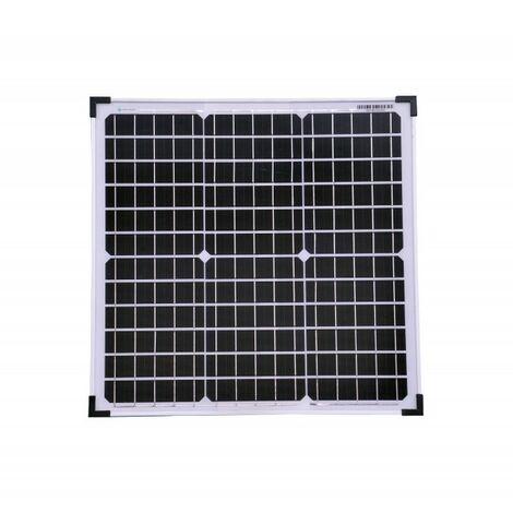 30 Watt mono Solarmodul Solarpanel Solarzelle