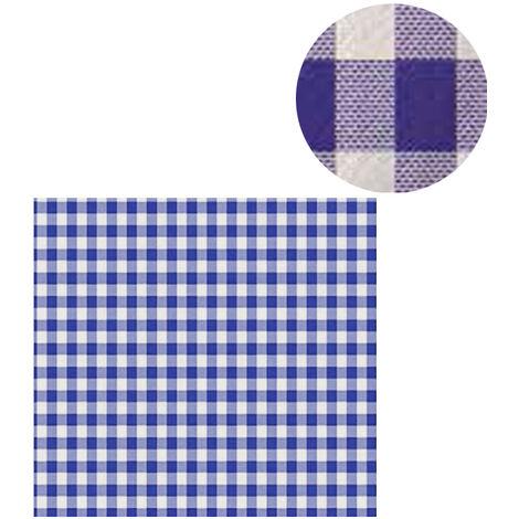 300 Manteles individuales 100x100 cm Cuadros azul