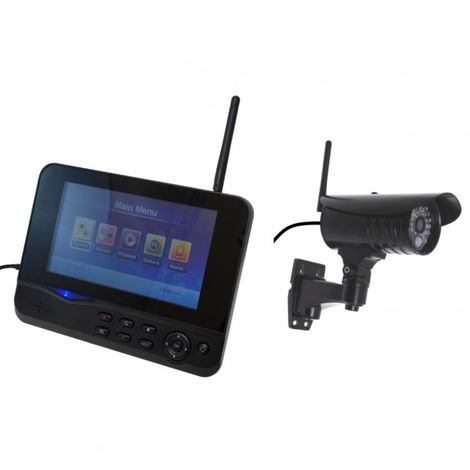 300 metre Wireless CCTV & 20 metre Night Vision External Camera Kit [002-1660]