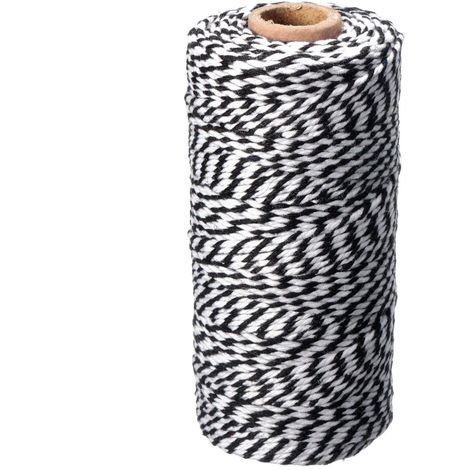 300 pieds rouleau Jute Corde Ficelle cordon bricolage scrapbooking fabrication