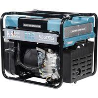 3000 Watt Inverter Stromerzeuger, 2x16A (230V), 12V, Ölmangelsicherung, Überspannungsschutz, KS 3000i, Spritsparmodus, Generator, 100% Kupfer