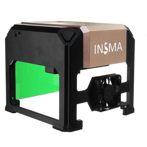 3000mW USB Laser Graveur Gravure Machine Imprimante Engraving Marquage Logo DIY Sasicare