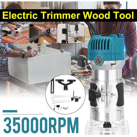 3000W bois électrique main tondeuse 220V travail du bois gravure rainurage coupe main sculpture Machine bois routeur menuisiers ensemble