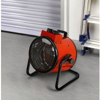 3000w Electric Industrial Warehouse Cylinder Fan Space Heaters Workshop Warmth