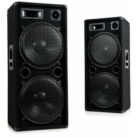 """main image of """"3000W PA DJ party disco sistema de sonido PAR parlantes de 3 vías Pro 1500"""""""
