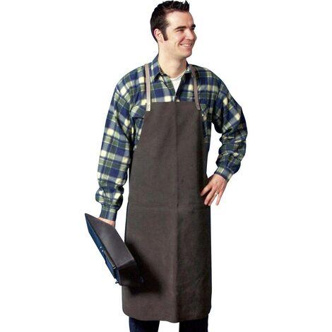 3001 Tablier à cuir de fente Matériau (détails) Cuir de vachette