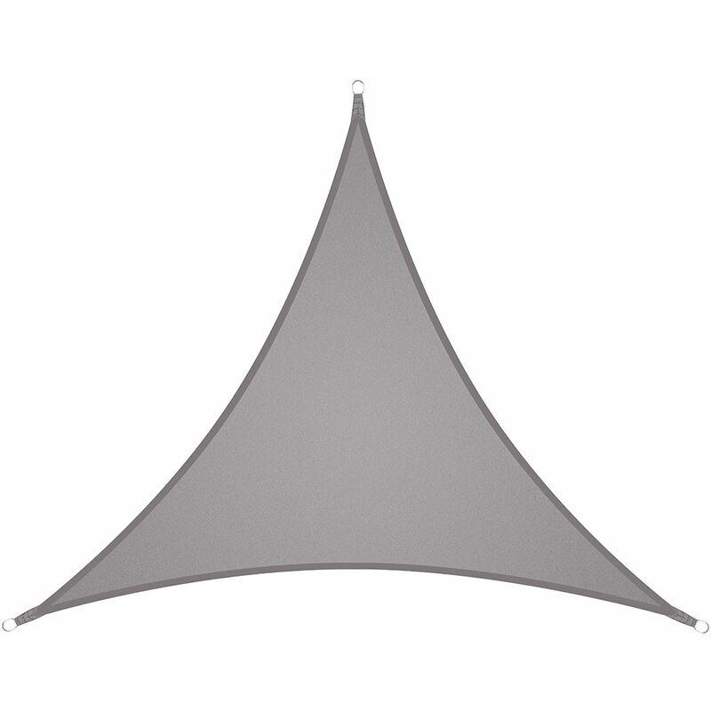 300D Triangle Abri Soleil Ombre Auvent Décoration Polyester Oxford Imperméable 90% Protection UV 4x4x4M