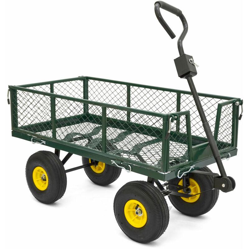 Bollerwagen Transportwagen Handwagen Gartenwagen Gerätewagen Karre Luftbereifung