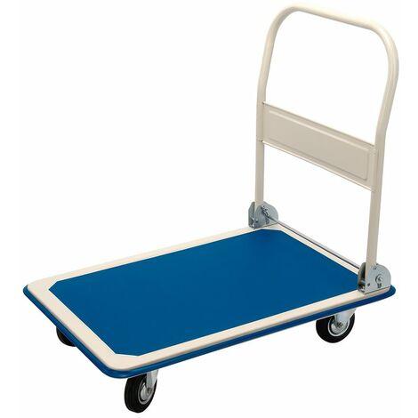300kg Platform Trolley with Folding Handle - 900 x 600 x 850mm