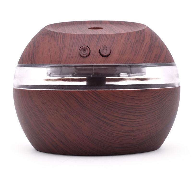 300ml ultrasuoni diffusore Creative Wood mini muto USB umidificatore umidificatore domestica Camera macch