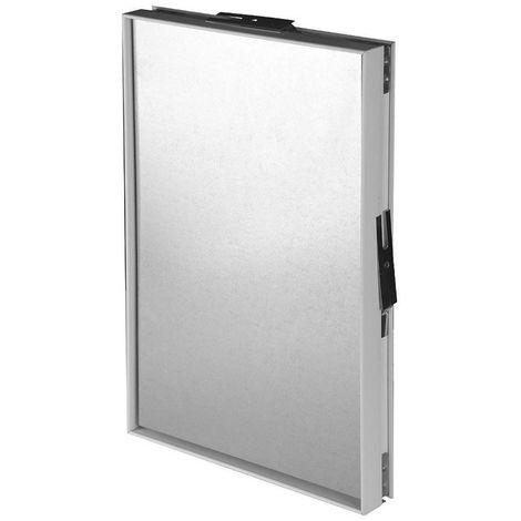 300x300mm Access Panel Magnetic Tile Frame Steel Wall Inspection Masking Door