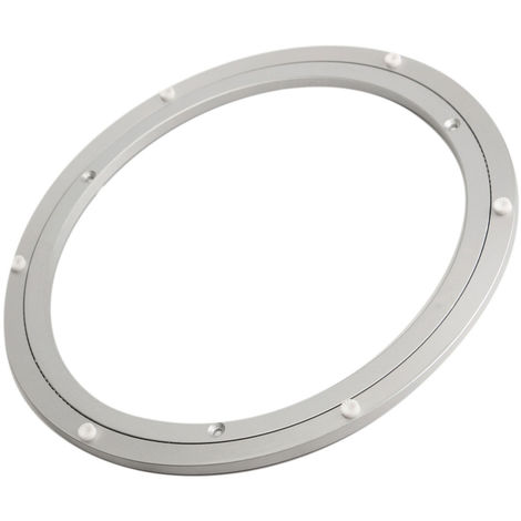 300x8.5mm Turntable Rolling Turntable Turntable Aluminum Table Holder Kitchen Cake
